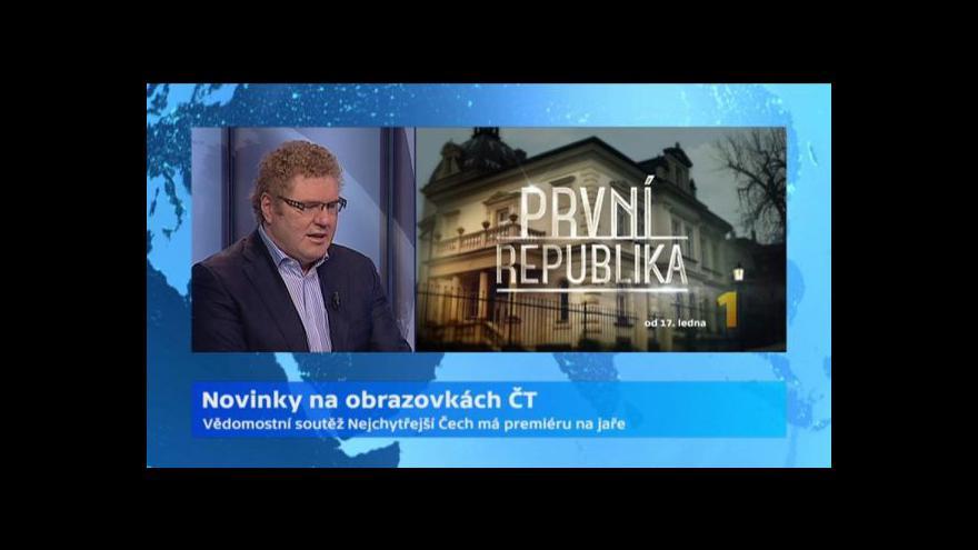 Video Rozhovor s ředitelem programu ČT Milanem Fridrichem