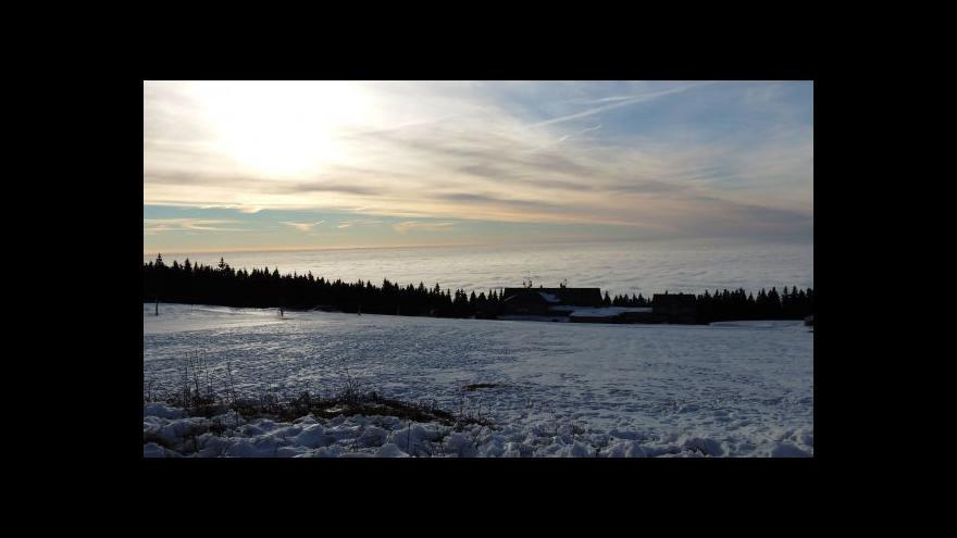 Video Novoroční Krkonoše se potýkají s nedostatkem sněhu