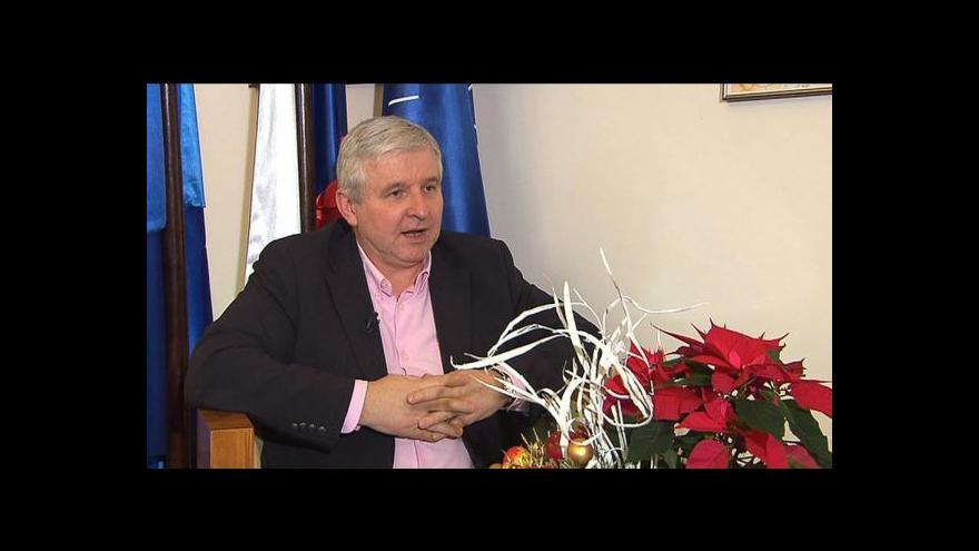 Video Rusnok pro ČT: Rok 2014? Jsem mírný optimista