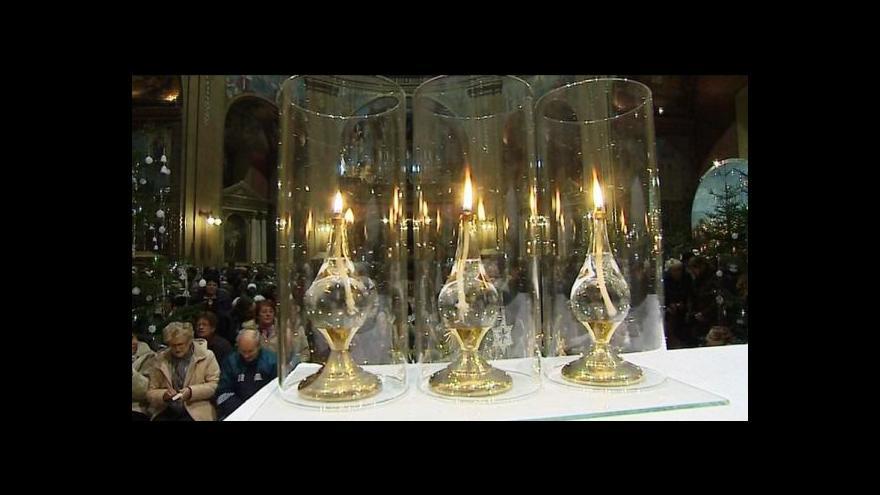Video Vítání nového roku na Svatém Hostýně