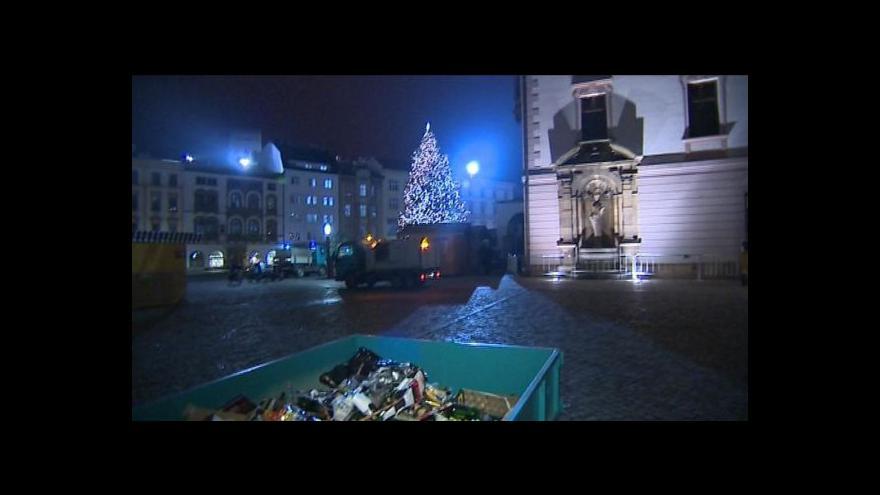 Video Události o oslavách nového roku