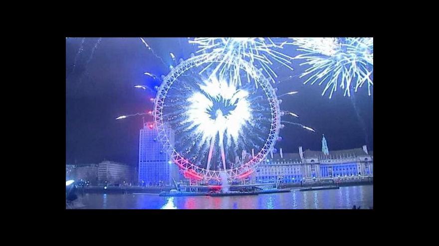 Video Oslavy nového roku ve světě