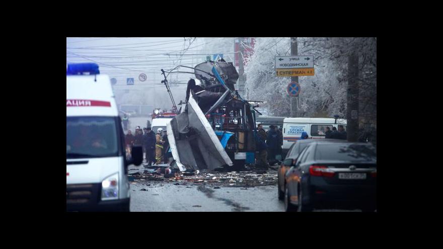 Video Počet obětí atentátů ve Volgogradu stále roste