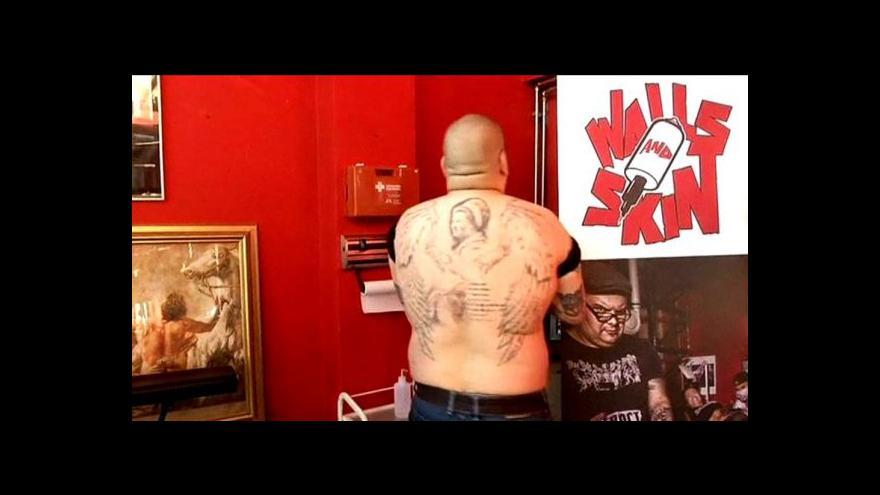 Video Uchovat tetování i po smrti