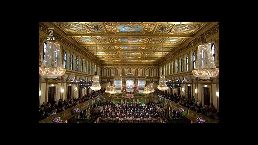Video Novoroční koncert Vídeňských filharmoniků 2014