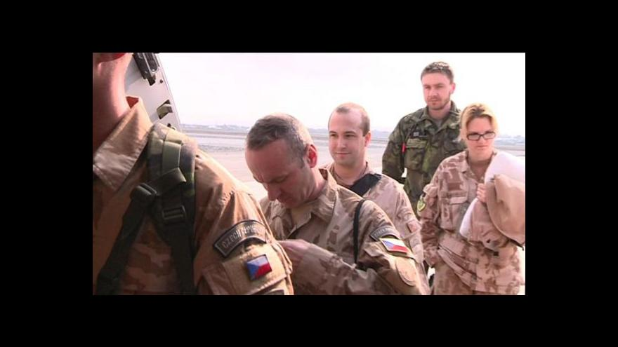 Video Čeští chemici opustili Afghánistán