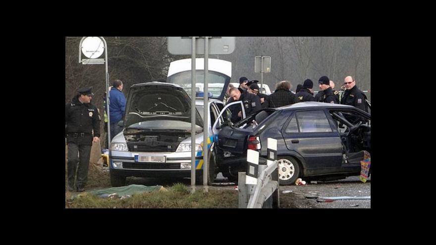 Video Řidič, který včera zavinil smrtelnou nehodu, zůstává ve vážném stavu