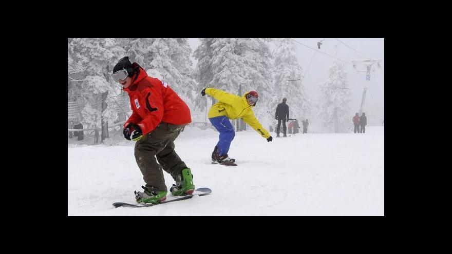 Video Vstup Luboše Dostála o lyžování na Zlínsku