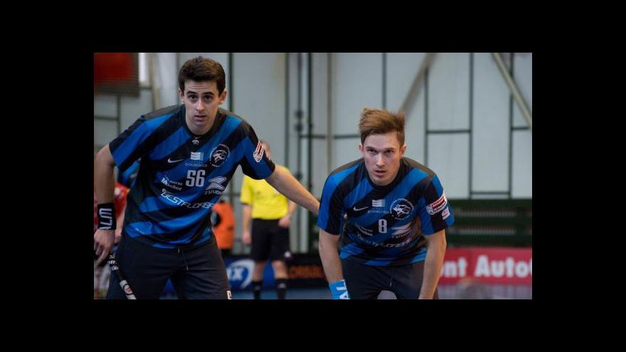 Video Sestřih semifinále florbalového poháru Otrokovice - Ostrava