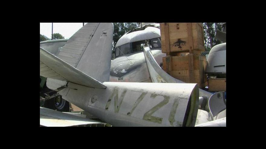 Video Kusy starých letadel našly v USA nové uplatnění