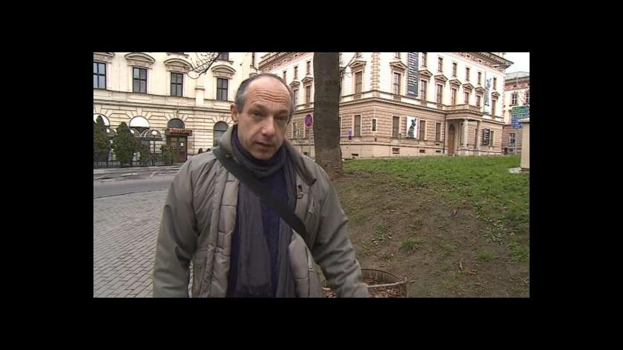 Video Brněnským podzemím provází Aleš Svoboda