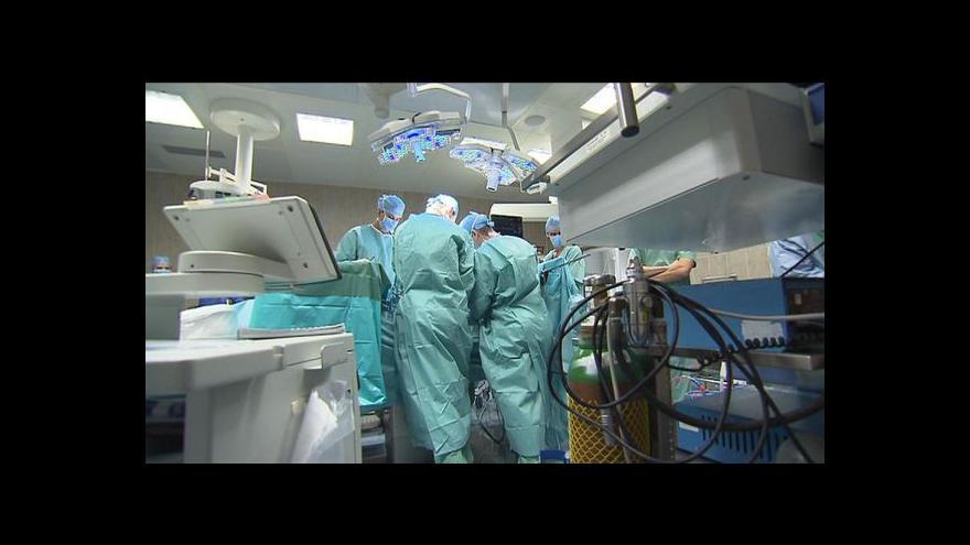 Video Operace dopadla úspěšně, lékaři doufají v brzké propuštění pacienta