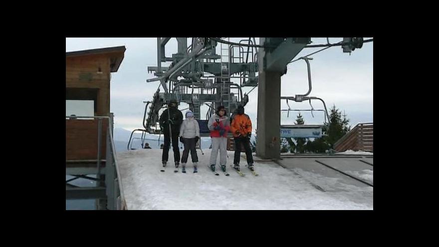 Video Lyžaři vyrazili na hory