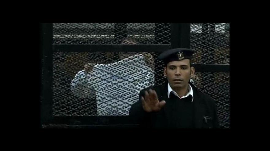 Video Horizont ČT24: Egyptský aktivista Maher odsouzen ke třem rokům za mřížemi