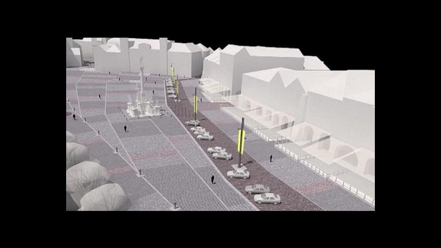 Video Přemysl Šrámek o čekání na rekonstrukci Velkého náměstí