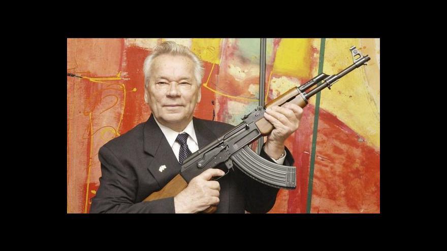 Video Slavný konstruktér Kalašnikov zemřel