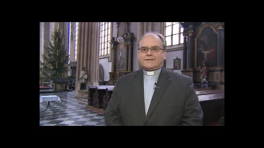 Video Vánoční přání Václava Slouka