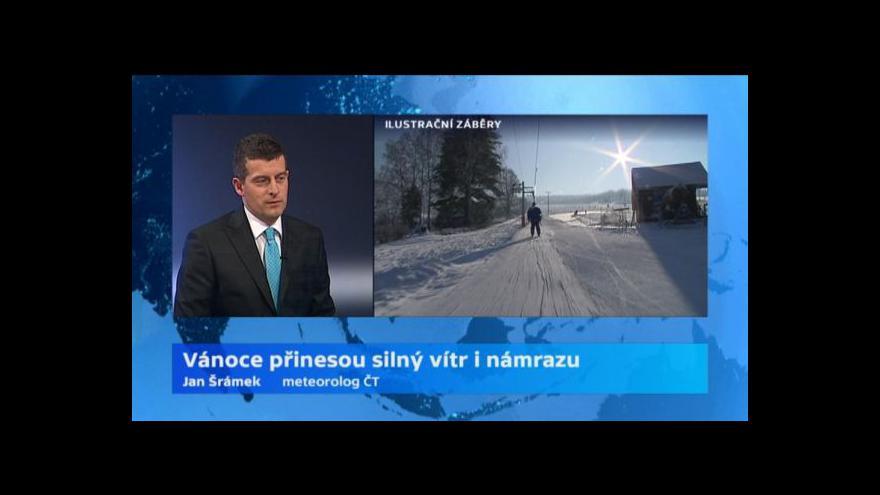 Video Rozhovor s meteorologem ČT Janem Šrámkem