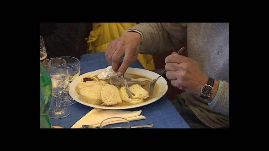 Video No comment: Charitativní oběd pro bezdomovce