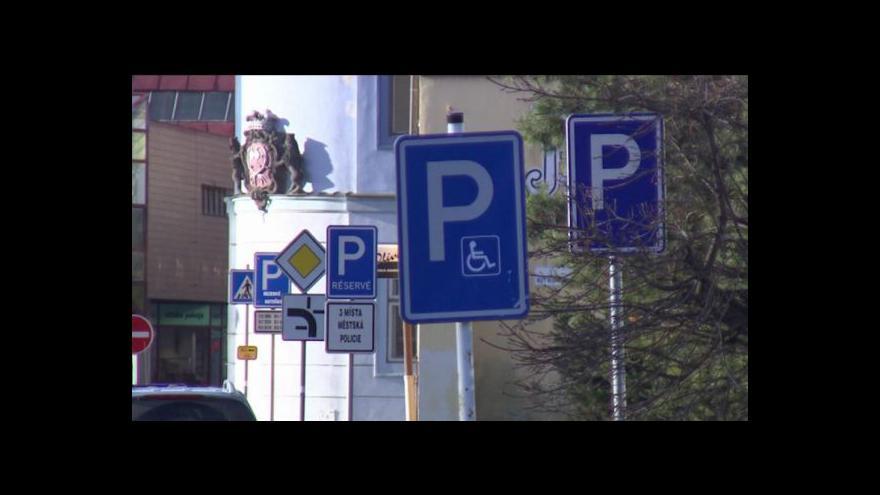 Video Michal Jemelka o českolipském parkování