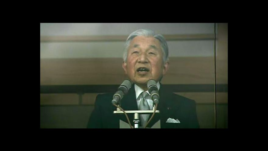 Video Akihito slaví 80. narozeniny
