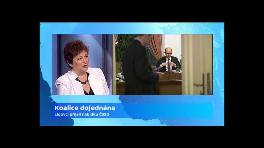 Video Vladimíra Dvořáková vidí minimální prostor prezidenta při sestavování vlády