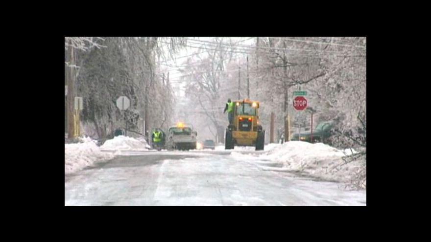 Video Rozmary počasí si vyžádaly oběti v USA a Kanadě