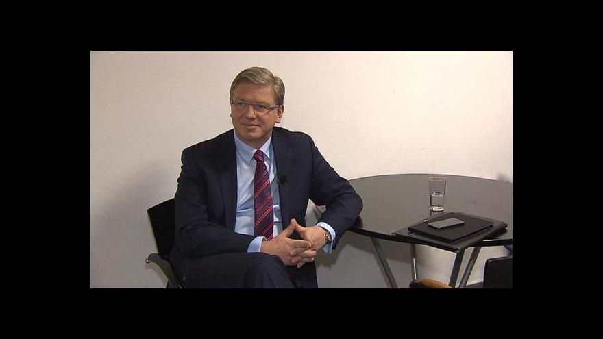 Video OVM: Eurokomisař Štefan Füle k situaci na Ukrajině