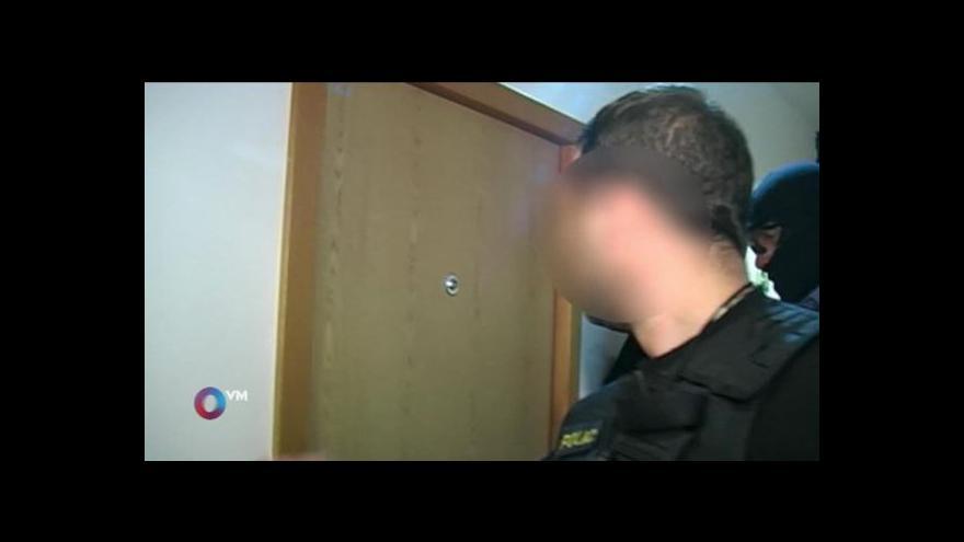 Video Část záznamu ze zatýkání Nagyové odvysílaná v OVM