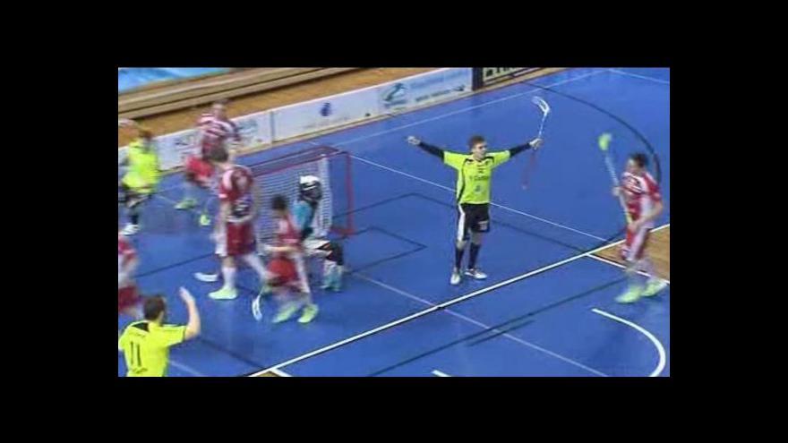 Video Sestřih a ohlasy florbalového utkání Brno - Sparta
