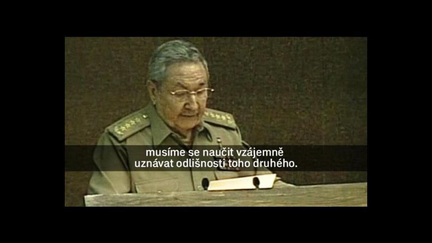 Video Kuba chce zlepšit vztahy s USA
