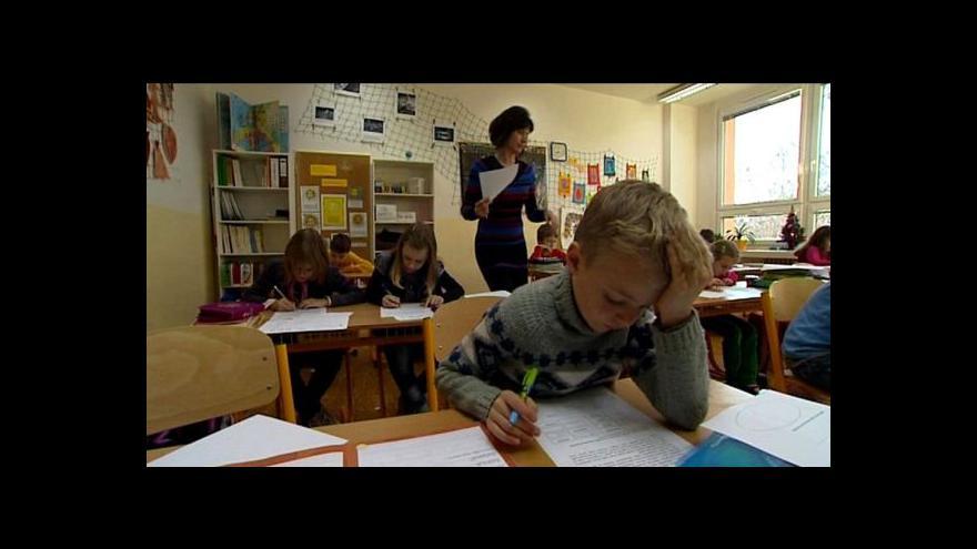 Video Podpora nadaných dětí zatím od státu nepřichází