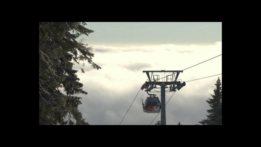 Video Události k ledovce a situaci na horách