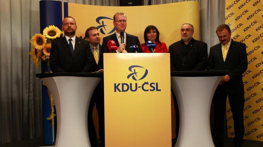 Video Tisková konference KDU-ČSL k výsledkům senátních voleb