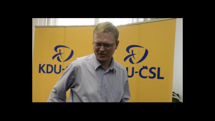 Video Budoucnost koalice má v rukou celostátní výbor KDU-ČSL