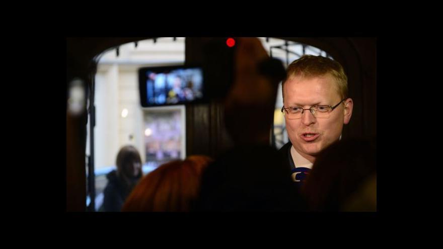 Video Události ČT o koaličním vyjednávání