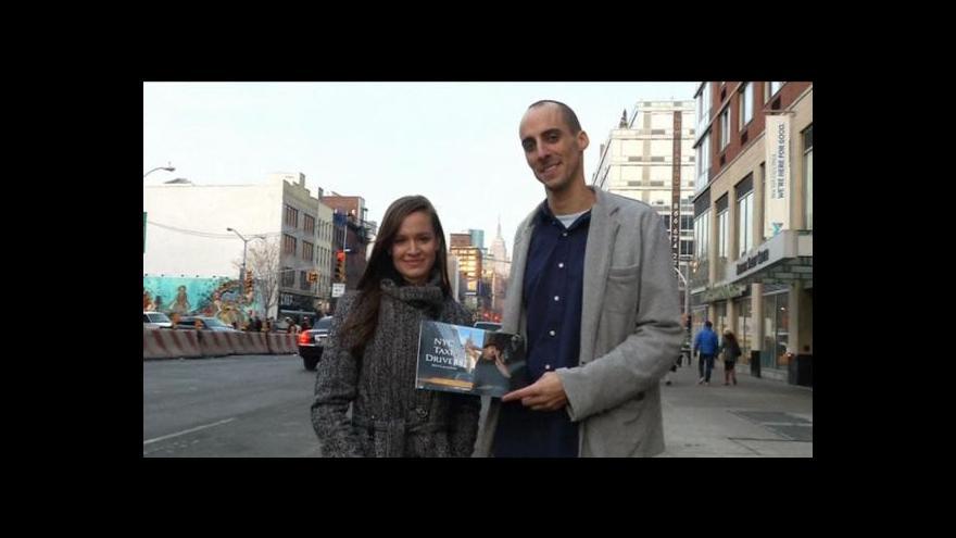 Video Newyorští taxikáři zapózovali pro kalendář