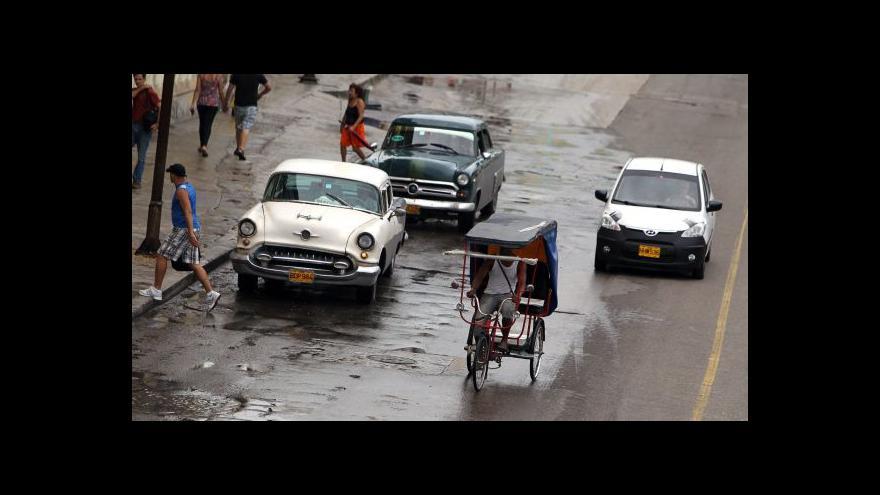 Video Horizont ČT24: Kuba povolila vnitřní obchodování s auty
