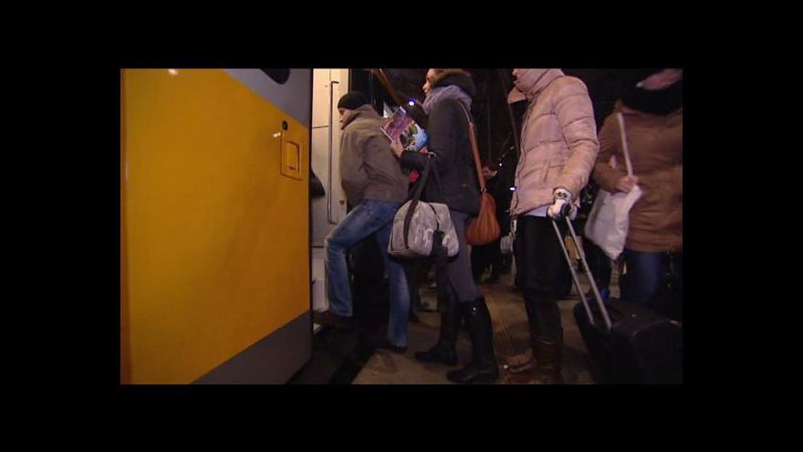 Video Události o předvánočním cestování