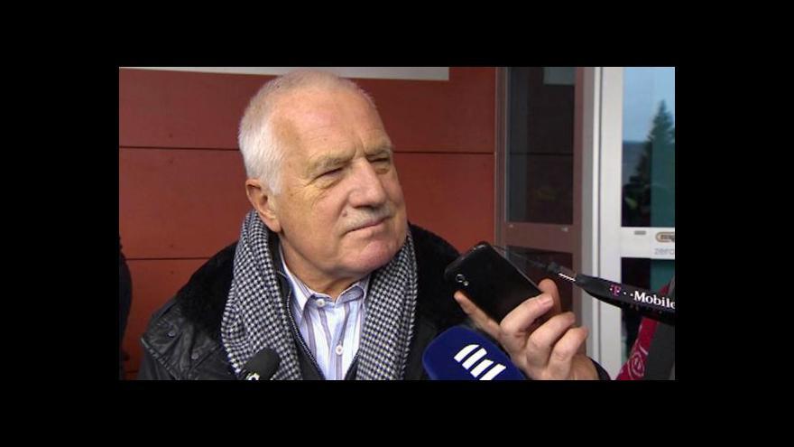 Video Rozhovor s Václavem Klausem
