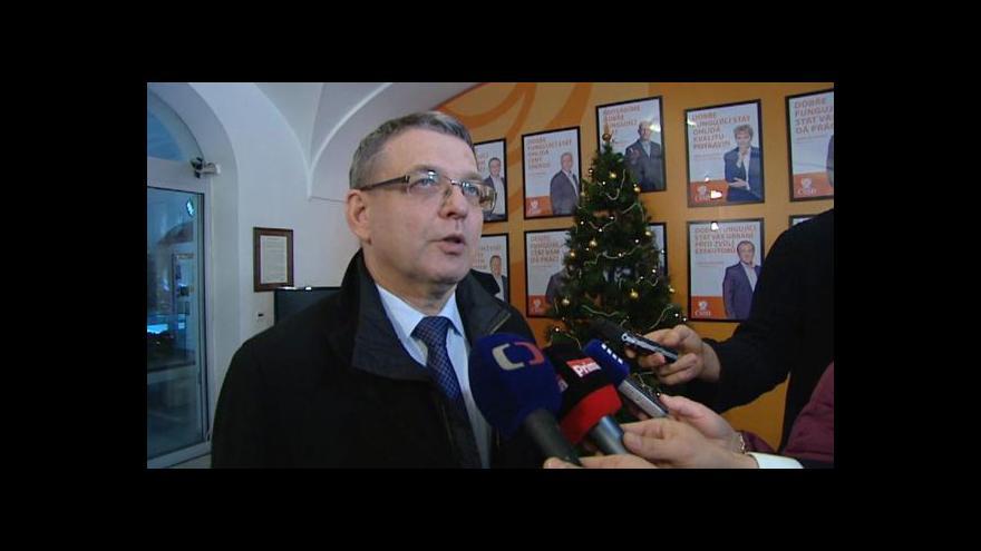 Video ČSSD: Dohody chceme dosáhnout co nejrychleji
