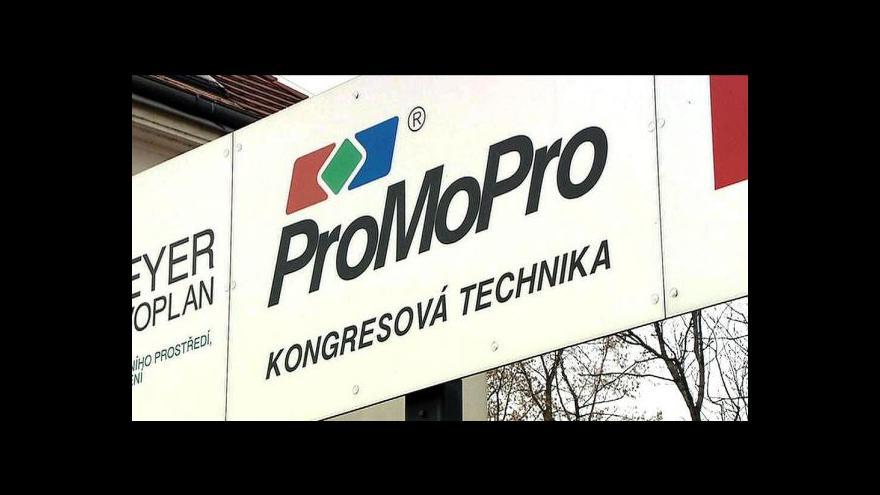Video Kauza ProMoPro míří k soudu