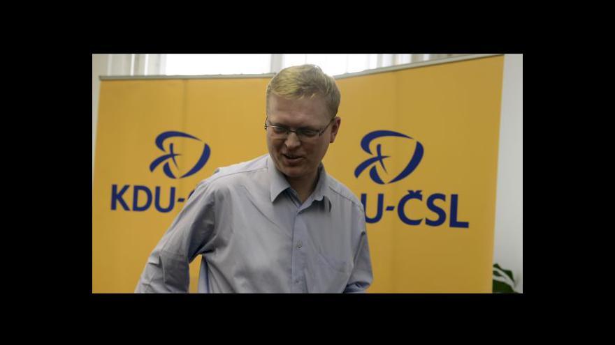 Video Speciál ČT24 k rozhodnutí celostátního výboru KDU-ČSL