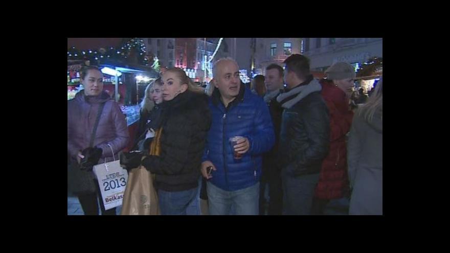 Video Vánoční trhy v Brně, Zlíně a Vyškově
