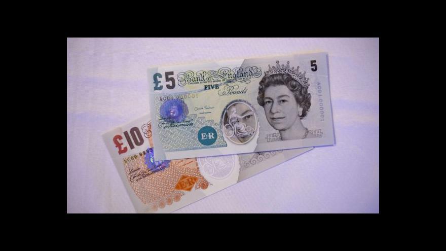 Video Nové britské bankovky