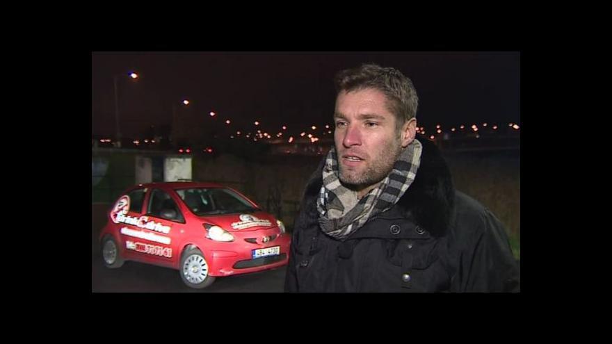Video Hovoří provozovatel služby drink and drive Lukáš Pokorný
