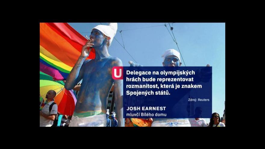 Video Události o americké olympijské delegaci