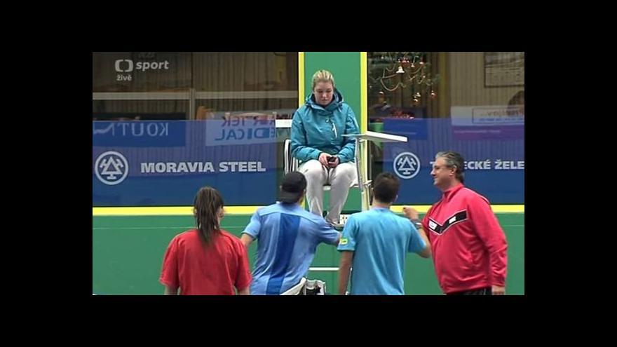 Video Prostějov postoupil do finále tenisové extraligy