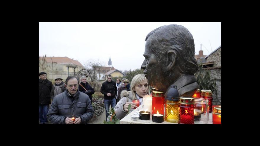 Video Události, komentáře: Česko vzpomíná na Václava Havla
