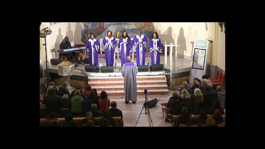Video NO COMMENT: Gospelové Vánoce ve Zlíně